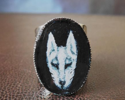 Ghost Dog Ring by polpolina