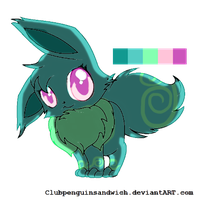 Eevee Adoptable .::CLOSED::. by StarryAdopts