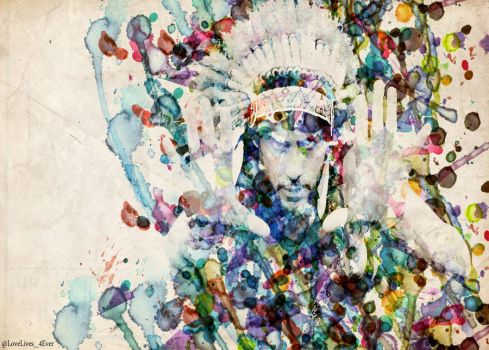 Chief Leto watercolor - wallpaper by lovelives4ever