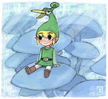 Zelda - the minish cap by emlan