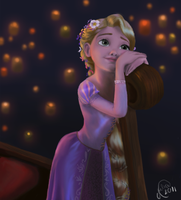 Rapunzel Portrait by juliajm15