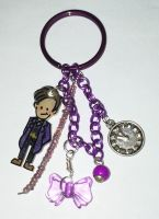 11th Doctor Purple charm by Lovelyruthie