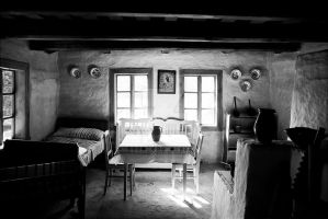 Old house 2 black and white by Ondrejvasak
