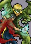 Hulking and Wiccan bout to Tap by lady-toyano