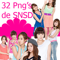 SNSD Girls' Generation PNG by ToraLoex