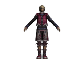 Xenoblade Chronicles Shulk [Default Set] WIP by xXCaesarXx