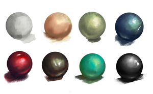 Color and texture practice by Slath