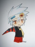 Chibi Soul Evans by Lies-and-Candy