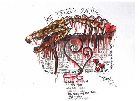 Love Breeds Suicide by RomanRottweiler