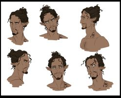 Jalil expressions by SilvesterVitale