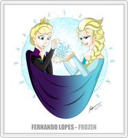 Frozen - A Tribute to Animation Collab by DuoDynamo
