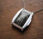 Reliquary Mechanical Hand Necklace by AMechanicalMind