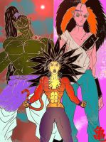 Warriors of the world of dbzx by J-BIRDSPRINGS