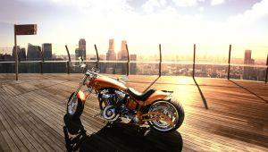 Skyline Motorbike by Danwhitedesigns