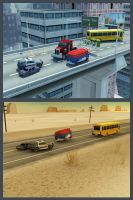 Police chase 3dVersion concept by TGalexTG
