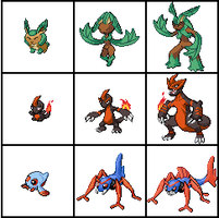 Tropos Starter Fakemon by heavenlymythicranger