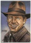 Indiana Jones   Sketch Card by Erik-Maell