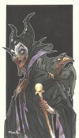 DISNEY ZOMBIE MASTERWORKS - MALEFICENT by leagueof1