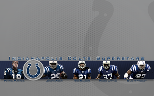 Indianapolis Colts Superstars by 1madhatter