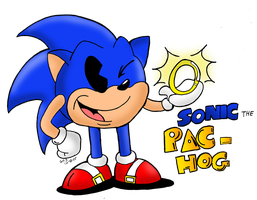 Sonic Pac-Hog Returns by spongefox