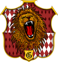 Gryffindor Crest by witcheewoman