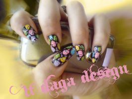 cute colorful spots by lafince