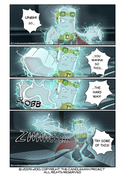 Candleman Page 28 by andystudio29