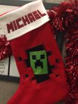 Minecraft Stocking by AngiKate