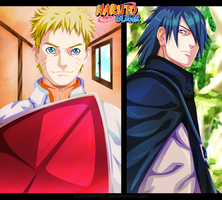 Naruto 700 - Naruto | Sasuke by AJM-FairyTail