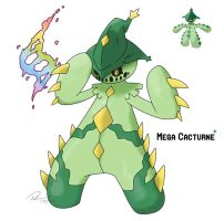 Mega Cacturne by LeafyHeart