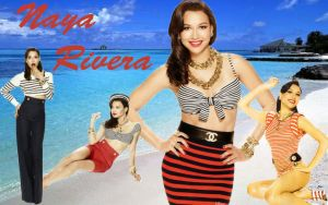 Wallpaper - Naya Rivera by DarinaBerry