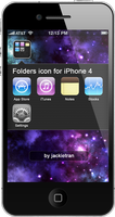 Folder icon iOS 4  for iPhone by JackieTran
