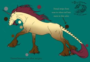 Dabrie Contest Unicorn by serenitypill19