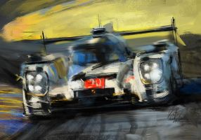 Porsche 919 hybrid 20 24Honors 2014LMP1 by Rizov