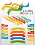 Colorful Ribbons 2 by NewJayne