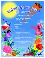Block Party Invitation by RinnG