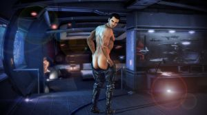 Like what you see, Shepard? by mandyalenko