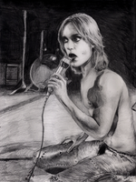 Iggy Pop by afiendishglee