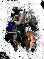 LINKIN PARK BLACK by membrane21