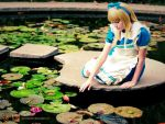 Alice at garden by CariasDaniel