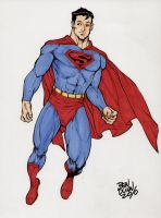 Superman commission by Dogsupreme
