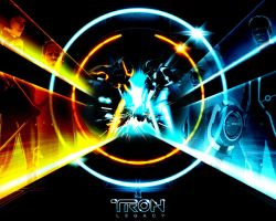 Tron: Legacy 3 by Nighthunte
