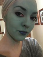 Playing with purdy face paints by Vovea