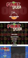 Fruit Splash - The Game by a2designs