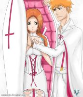 Don't sleep til you sleep...IchiHime cover 558 ch. by Verano-Rin