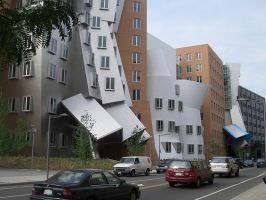 Gehry in Cambridge MA by barefootliam