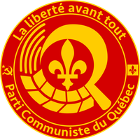 Alternate Reality - Communist Party of Quebec Logo by AlienSquid