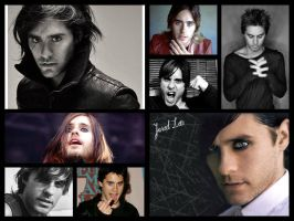 Jared Leto collage by Black-Jack-Attack