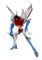 Prime Starscream (Generation 1 Colour) by Mediziner