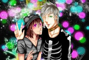 AS Collab But firt let me take a SELFIE ~~ by ReveVen